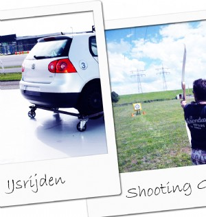 IJsrijden en shooting games